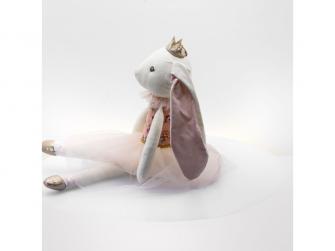 látková hračka BALLERINA Rabbit 48cm 3