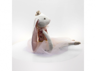 látková hračka BALLERINA Rabbit 48cm 5