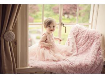 Luxusní deka - růžová 4