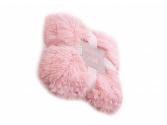 Luxusní deka - růžová 2