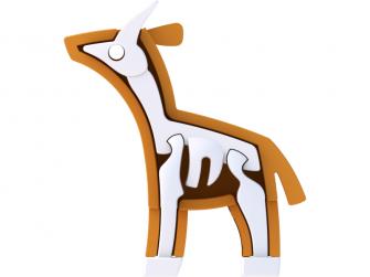 ANTILOPA - magnetická skládací hračka s 3D modelem savany 4