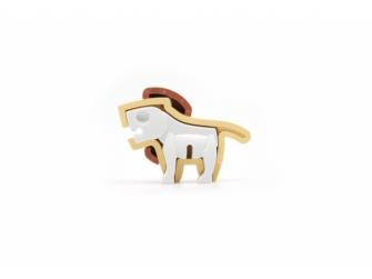 BABY LEV - magnetická skládací hračka 3