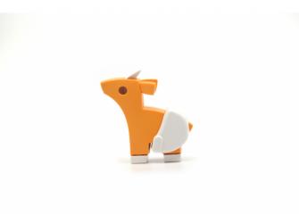 BABY ANTILOPA - magnetická skládací hračka 2