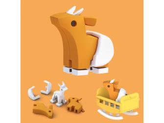 BABY ANTILOPA - magnetická skládací hračka