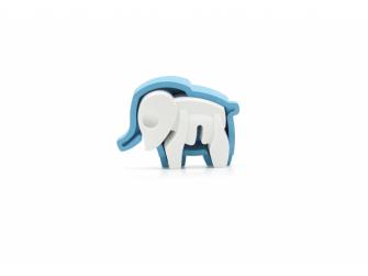 BABY SLON - magnetická skládací hračka 3