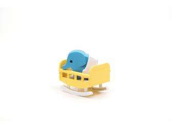 BABY SLON - magnetická skládací hračka 5