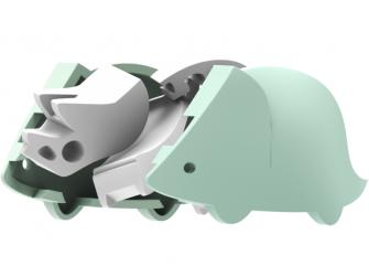 TRICERA - magnetická skládací hračka s 3D modelem prostředí 2