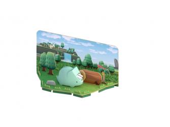TRICERA - magnetická skládací hračka s 3D modelem prostředí 5