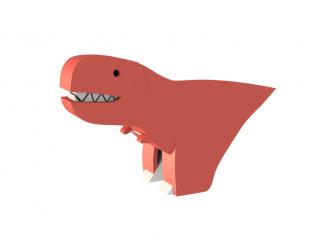 T-REX - magnetická skládací hračka s 3D modelem prostředí 2