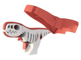 T-REX - magnetická skládací hračka s 3D modelem prostředí 4