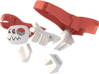 T-REX - magnetická skládací hračka s 3D modelem prostředí 5