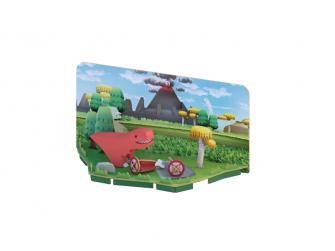 T-REX - magnetická skládací hračka s 3D modelem prostředí 6