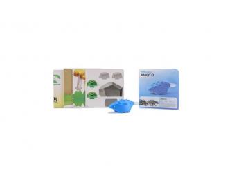 ANKYLO - magnetická skládací hračka s 3D modelem prostředí 5