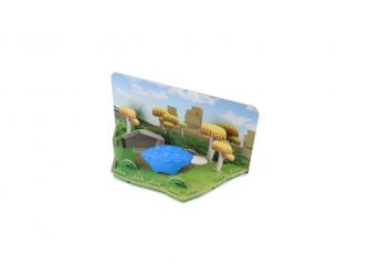 ANKYLO - magnetická skládací hračka s 3D modelem prostředí 4
