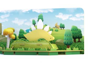 STEGO - magnetická skládací hračka s 3D modelem prostředí 4
