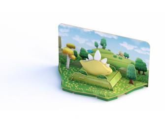 STEGO - magnetická skládací hračka s 3D modelem prostředí 5