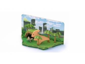 PARA - magnetická skládací hračka s 3D modelem prostředí 5