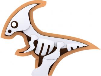 PARA - magnetická skládací hračka s 3D modelem prostředí 3