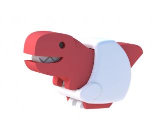 BABY T-REX - magnetická skládací hračka 2