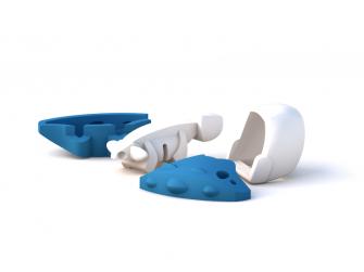 BABY ANKYLO - magnetická skládací hračka 3
