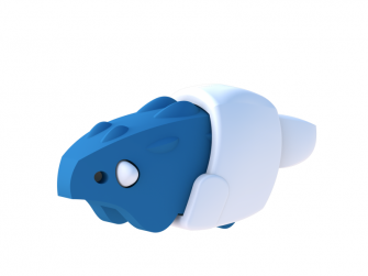BABY ANKYLO - magnetická skládací hračka 2
