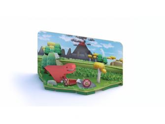 T-REX - magnetická skládací hračka 3