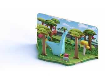 DIPLO - magnetická skládací hračka 4