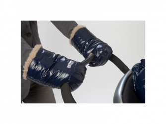 Rukavice na kočárek WarMMuff Oxford Blue 2