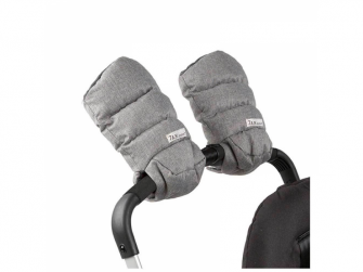 Rukavice na kočárek WarMMuff Heather Grey 2