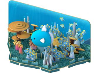 MOLA - magnetická skládací hračka s 3D modelem oceánu 5