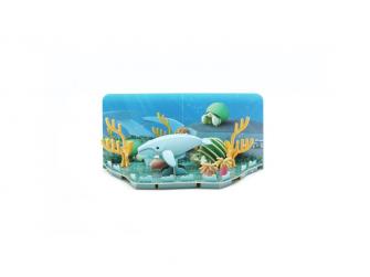 KEPORKAK - magnetická skládací hračka s 3D modelem oceánu 6