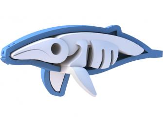 KEPORKAK - magnetická skládací hračka s 3D modelem oceánu 5