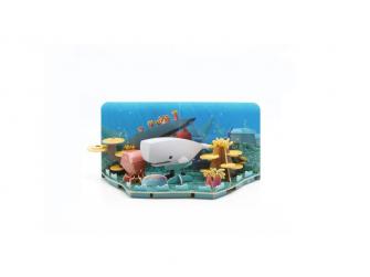 VORVAŇ - magnetická skládací hračka s 3D modelem oceánu 6