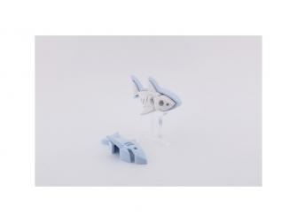 ŽRALOK BÍLÝ - magnetická skládací hračka s 3D modelem oceánu 4