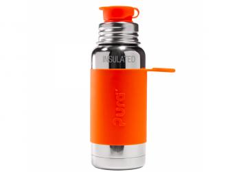 TERMO láhev se sportovním uzávěrem 475ml - oranžová