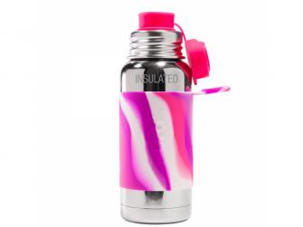TERMO láhev se sportovním uzávěrem 475ml - růžovo_bílá