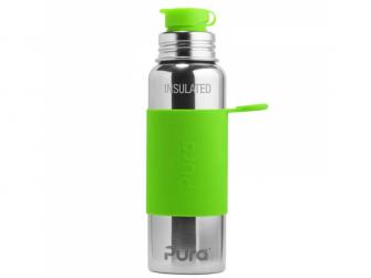 TERMO láhev se sportovním uzávěrem 650ml - zelená