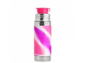 TERMO láhev se sportovním uzávěrem 260ml - růžovo-bílá