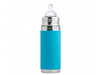 Kojenecká TERMO láhev 260ml - aqua