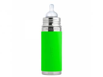 Kojenecká TERMO láhev 260ml - zelená