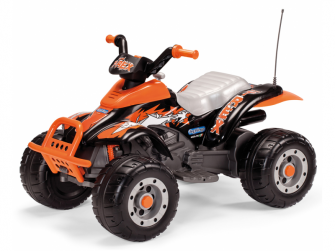 CORRAL T-REX black/orange (12V, 2 motory)