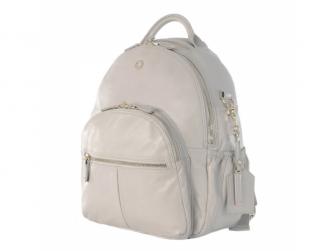JOY XL ICE GREY - kožený přebalovací batoh 2