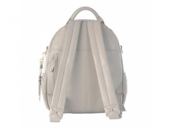 JOY XL ICE GREY - kožený přebalovací batoh 3