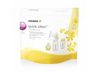 Quick Clean - Sterilizační sáčky do mikrovlnné trouby - bal. 5 ks