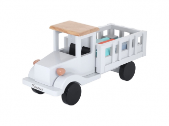 Dřevěné nákladní auto 2