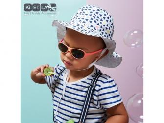 Dětské sluneční brýle JokaKi 12-30 měsiců - korálová 3