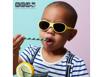 Dětské sluneční brýle JokaKi 12-30 měsiců - žlutý pastel 3