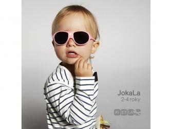 Dětské sluneční brýle JokaLa 2-4 roky - růžová 3