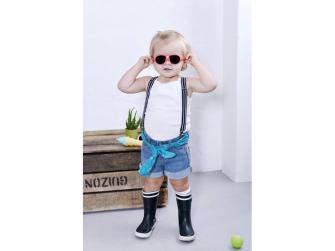 Dětské sluneční brýle JokaKid's 4-6 let - korálová 3