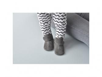 Walker Leather Basic Dark Grey 3 - 6 měsíců 7